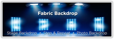 Backdrop farbric & backdrop banner advertising | Online Desing Printing | Scoop.it
