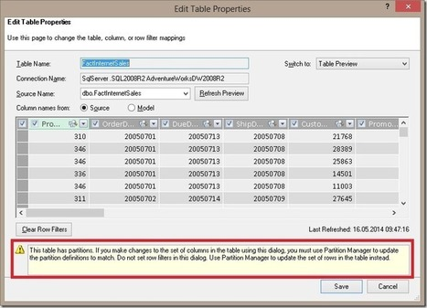 Restoring a SSAS Tabular Model to Power Pivot | analytics and sql | Scoop.it