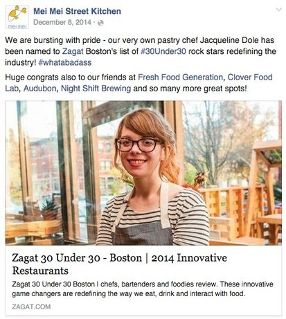 8 Examples of Awesome Restaurant Social Media Marketing | Marketing & Communication Strategies | Scoop.it