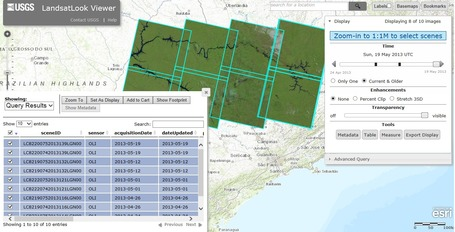 LandsatLook Viewer | ArcGIS-Brasil | Scoop.it