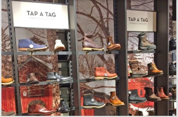 Timberland a choisi New York pour son premier magasin connecté | Digitalisation & Distributeurs | Scoop.it