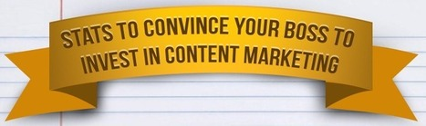 Infographic: 14 Statistics to Justify Content Marketing   Digital-News on Scoop.it today   Scoop.it