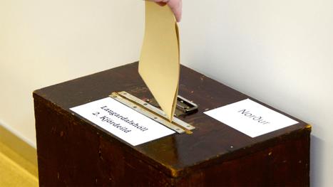 Islande : un vote sous le signe de l'alternance | Bankster | Scoop.it