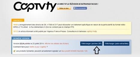 Captvty : visionnez et enregistrez des émissions diffusées sur TNT | TICE | Scoop.it