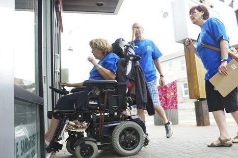 Des lieux mal adaptés pour les personnes à mobilité réduite | Handimobility | Scoop.it