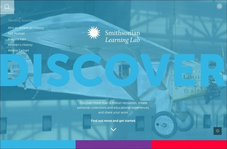 Smithsonian Launches Online Learning Lab for Teachers   ANALYZING EDUCATIONAL TECHNOLOGY   Scoop.it