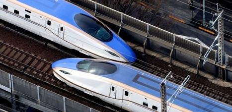 Le Japon fabriquera le premier TGV en Inde | IndianSide | Scoop.it