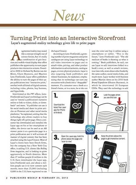 Turning Print into an Interactive Storefront | Digital Authorship | Scoop.it