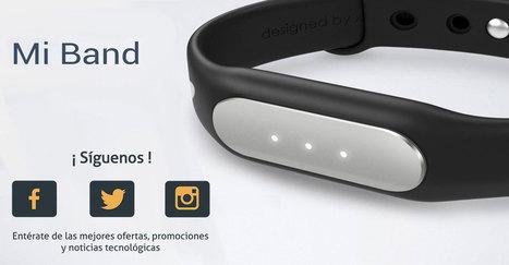 Xiaomi Mi Band, un gadget económico que te ayudará en tu rutina. | Noticias Wearables | Scoop.it