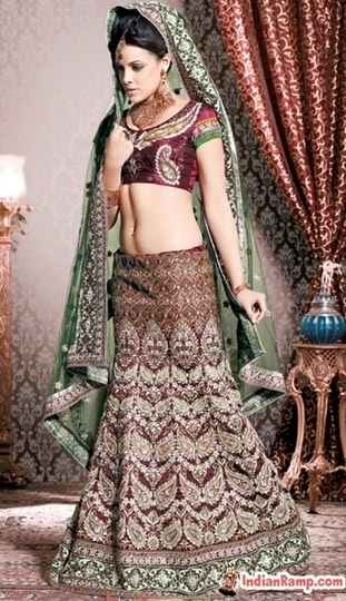 Classy and Bold Couture Collection Fabulous Designer Lehengas 2013 | Indian Ramp - Indian Fashion, Saree, Salwar Kameez, Mehendi Designs | Indian Fashion Updates | Scoop.it
