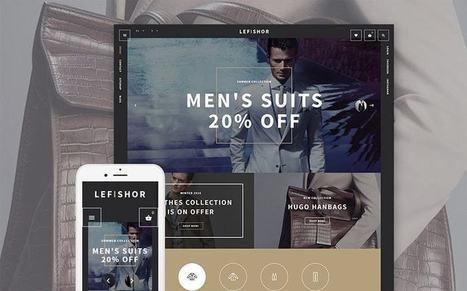 Lefishore - Responsive Men's Clothes and Fashion Accessories Prestashop Theme   platinastudio   Scoop.it