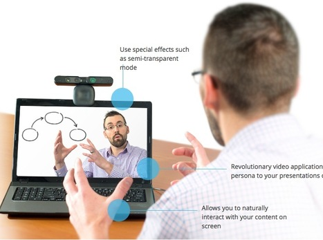 Immersive Presentations: Get Your Live Video Inside Your Slides with Personify Live | Create, Innovate & Evaluate in Higher Education | Scoop.it