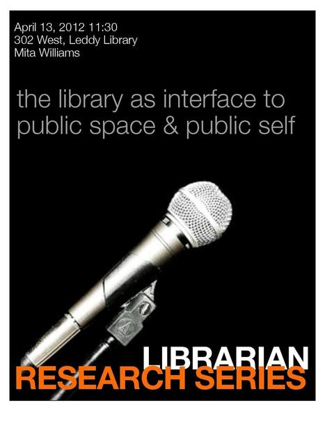Leddy News » Blog Archive » The Library as Interface to Public Space and Public Self | SocialLibrary | Scoop.it