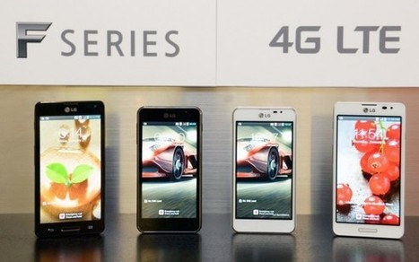 LG unveils Optimus F5 and F7 4G LTE smartphones | It technology plus design | Scoop.it