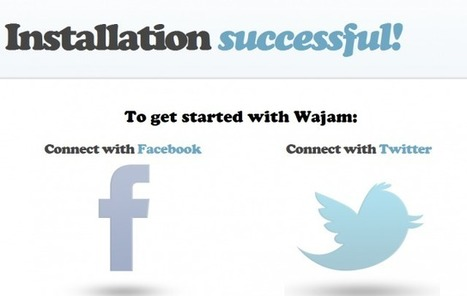 Wajam, motor de búsqueda con los resultados de tus contactos en redes sociales | VIM | Scoop.it