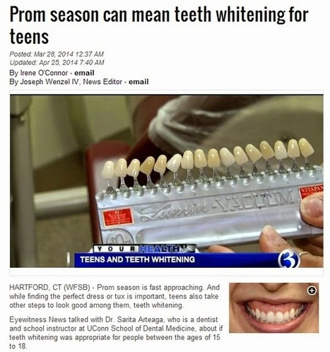 Safe Teeth Whitening: Advice From a Trusted Cosmetic Dentist in Mountain View | Patrick F. McEvoy, DDS | Scoop.it