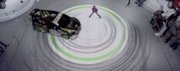 "Ford Augmented Reality at Auto Show 2012 | La ""Réalité Augmentée"" (Augmented Reality [AR]) 