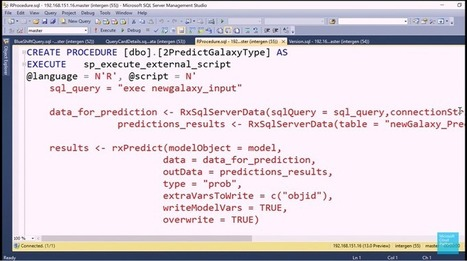 Revolutionanalytics: Microsoft SQL Server 2016 launch showcases R | Statistics with R | Scoop.it