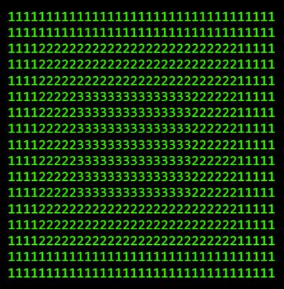 An ascii-art random dot stereogram generator | ASCII Art | Scoop.it