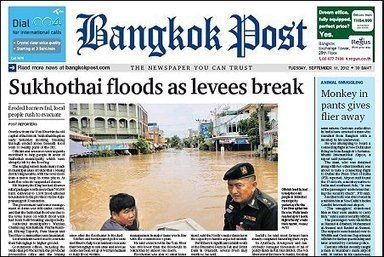 Is Sukhothai Historical Park Really Flooded? | Thailand Floods (#ThaiFloodEng) | Scoop.it
