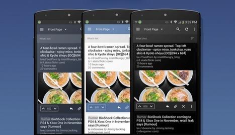 BaconReader 5.0 : le client Reddit passe au Material Design - FrAndroid | Geeks | Scoop.it