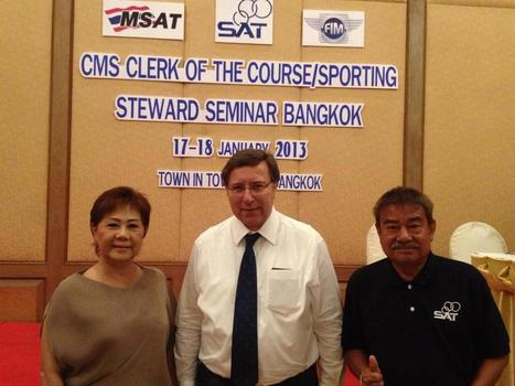 FIM - CMS President is back to Thailand for FIM Motocross Seminar | FMSCT-Live.com | Scoop.it