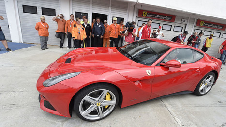 Vettel puts on a show with the F12berlinetta | Autos | Scoop.it