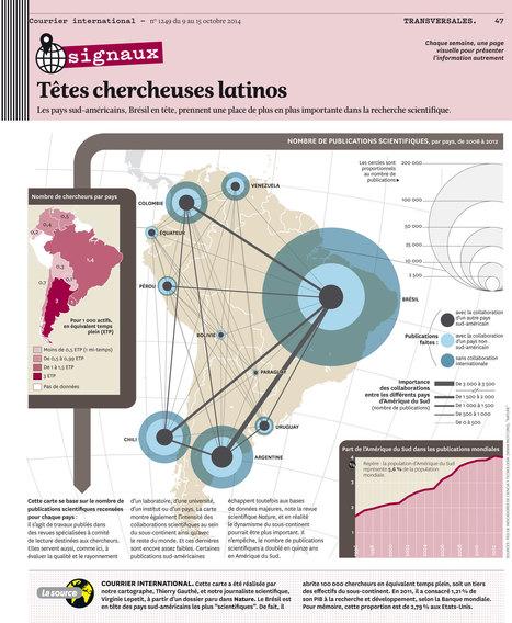 CARTOGRAPHIE • Têtes chercheuses latinos | Le  Brésil : des inégalités qui persistent et qui  freinent l'essor d'une BRICS | Scoop.it