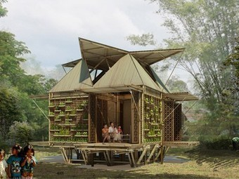 Affordable bamboo housing floats when it floods | The Property Notepad | Scoop.it