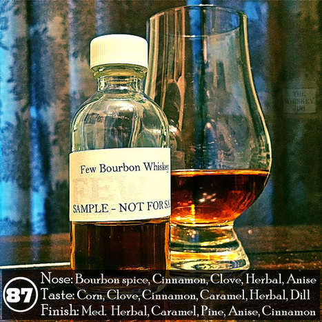 FEW Bourbon Whiskey Review - The Whiskey Jug | About Whiskey | Scoop.it