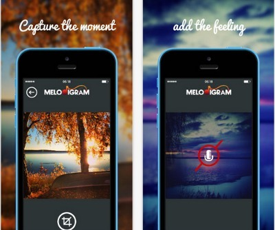 Melodigram: app para compartir fotos con sonidos de fondo | shenna | Scoop.it