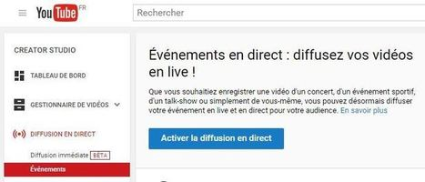 Google retire Hangouts en direct de Google+ pour lancer YouTube En direct | E-pedagogie, apprentissages en numérique | Scoop.it