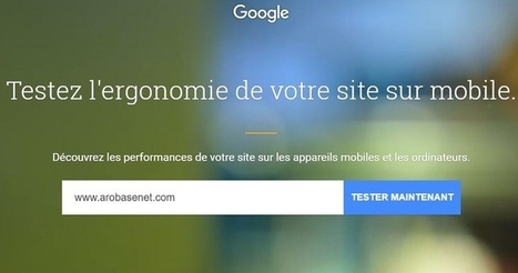 Google propose Test My Site pour tester les performances du site | Référencement internet | Scoop.it