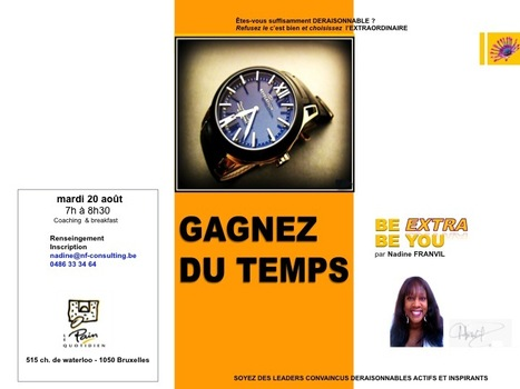 http://GAGNEZ DU TEMPS | BE EXTRA BE YOU | Scoop.it