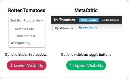 When to Use Toggle Buttons - UX Movement | Basics and principles for a good  Web Design | Scoop.it