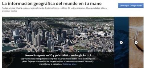 Guía turística e imágenes 3D en el nuevo Google Earth 7 | Software+App+Web.- | Scoop.it
