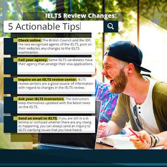 IELTS Review Changes: 5 Actionable Tips | IELTS - English Proficiency Exam | Scoop.it