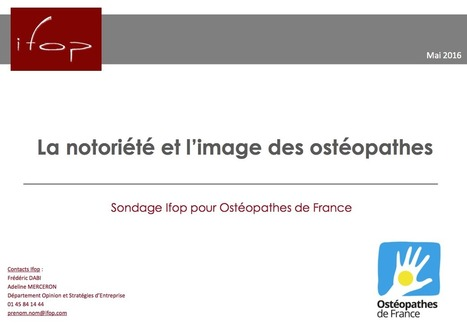 Ostéopathes de France | Santé, social, solidarité | Scoop.it