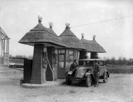 The Amazing Architectural Evolution of the Filling Station   Navigate   Scoop.it