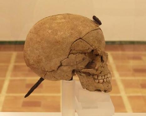 Ullastret exhibe los cráneos íberos enclavados tras restaurarlos | B | Scoop.it