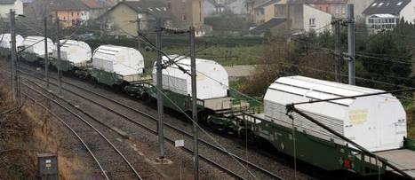 ALERTE  : 7,4 tonnes de déchets radioactifs en attente en gare d'Ambérieu en Bugey | CAP21 | Scoop.it