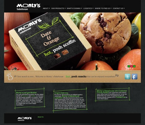 Montys Bakes House eCommerce Store for UK Customers | Magento eCommerce CMS Design and Development | Scoop.it