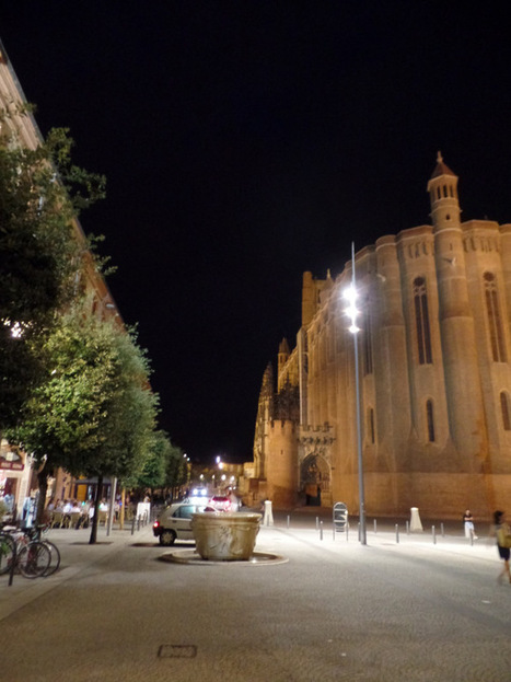 Albi en nocturne | The Blog's Revue by OlivierSC | Scoop.it