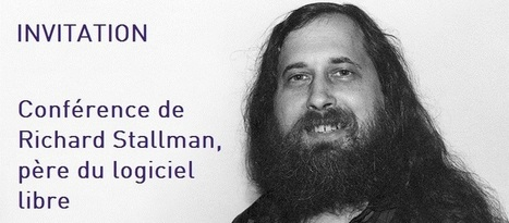 Conférence Richard Stallman | eServices | Scoop.it
