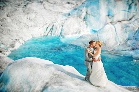 Photos de mariage… en Alaska!   Idées Destinations   Scoop.it
