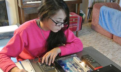 À seulement 15 ans, elle invente une source de lumière virtuellement inépuisable | Rescoop -Faune - Flore - Environnement | Scoop.it