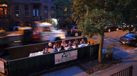 Des restaurants éphémères mettent en vedette les déchets alimentaires | agriculture | Scoop.it
