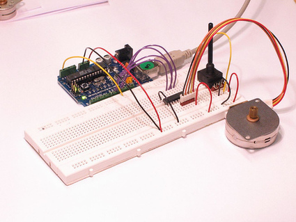 Arduino - StepperUnipolar with ULN2003A | Arduino en el cole | Scoop.it