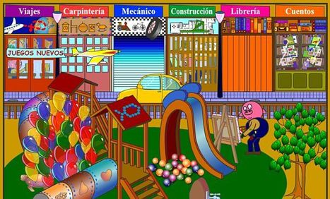 Cincopatas, juegos y cuentos infantiles ilustrados para niños | Conocimiento libre y abierto- Humano Digital | Scoop.it