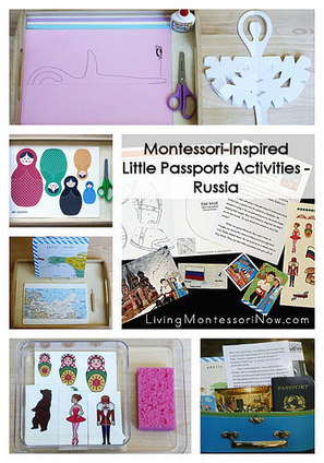 Montessori-Inspired Little Passports Activities – Russia | Montessori Inspired | Scoop.it